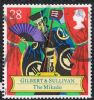GB SG1626 1992 Gilbert and Sullivan 28p used FILLER